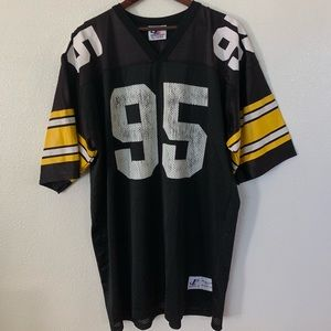 Vintage Logo Athletic Steelers Lloyd Jersey